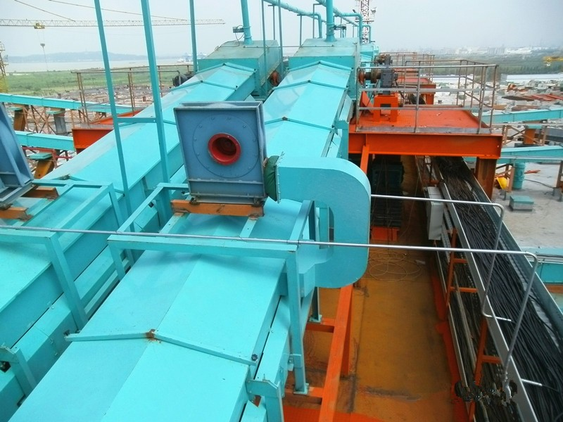 Air-Supported Belt Conveyor