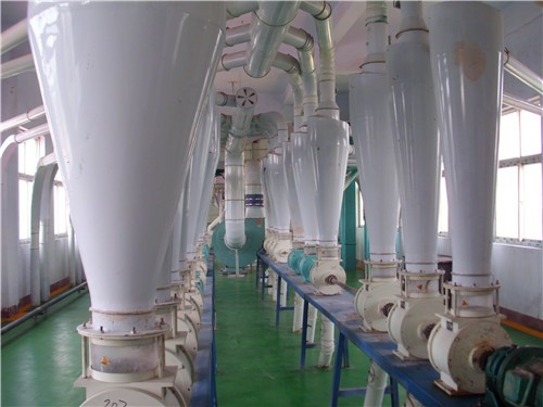 Corn Germ Extraction and Corn Flour Milling Production Line