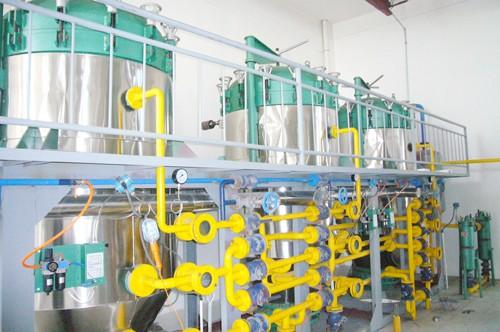 Máquina De Refinación De Aceite De Germen De Maíz