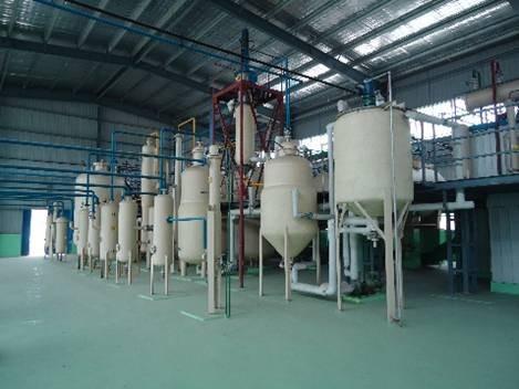 Línea de procesamiento de refinación de aceite de semilla de uva
