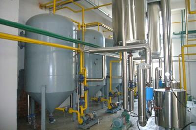 Máquina de refinación de aceite de maní