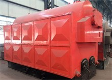 Coal/ wood fired steam boiler (Automatic chain)