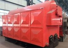 Caldera de vapor de carbón / leña (cadena automática)